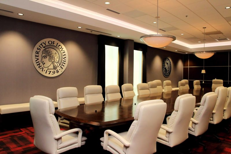 University of Louisville Board Room at Cardinal Stadium