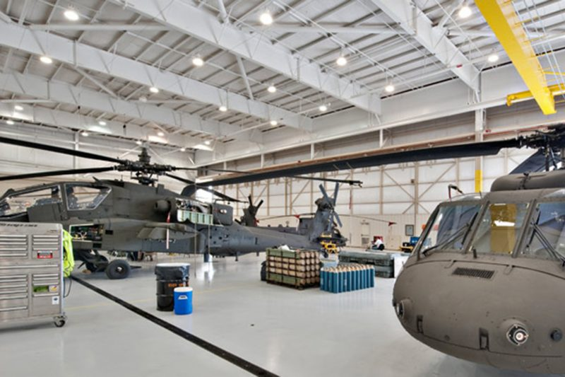 160th Special Operations Aviation Training Hangar